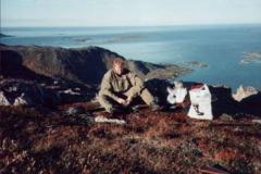 Jaktpause Vaagfjellet