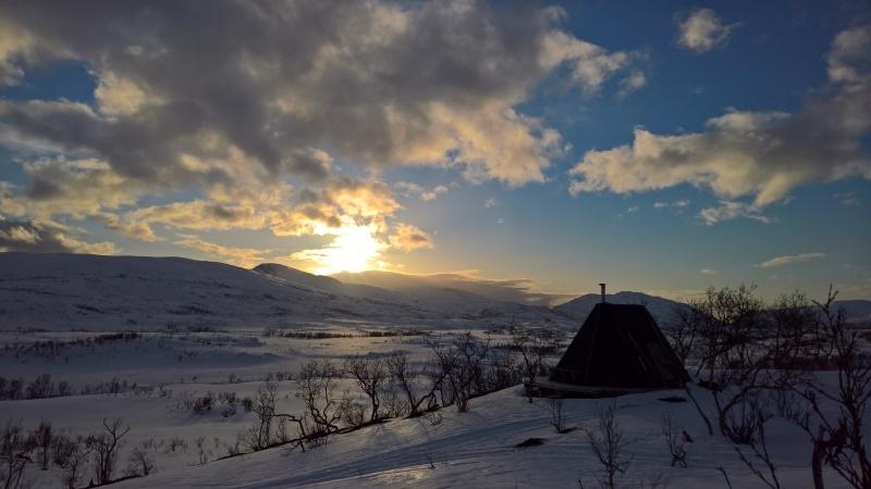 Rakfjorddalen vinter